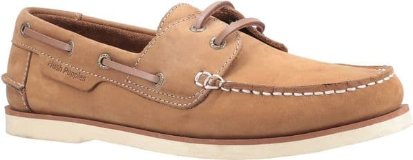 Hush Puppies Henry Lace Mens Shoes Chestnut